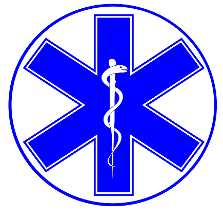 Blue Medical Symbol - Medical Courier Services
